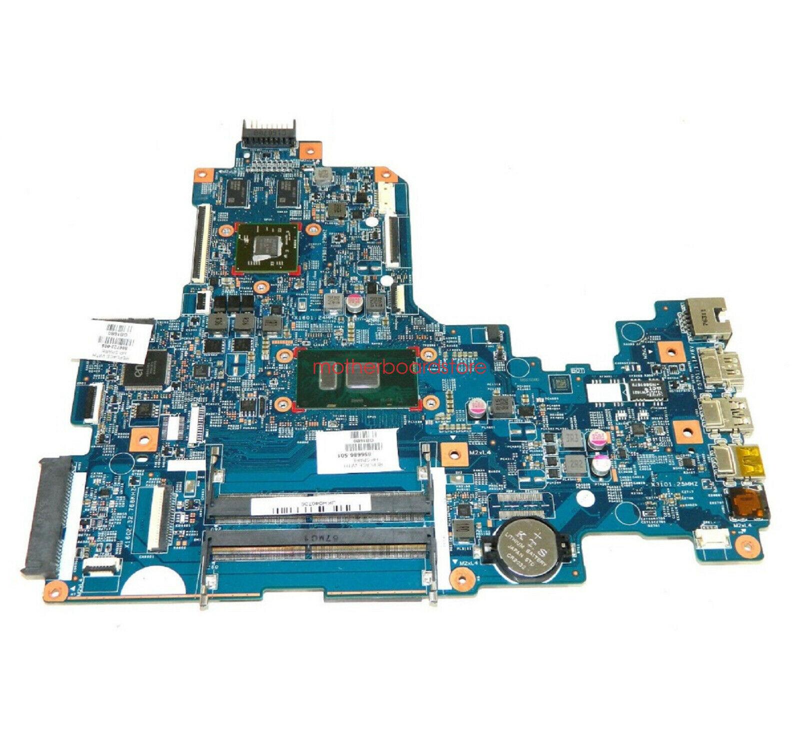 689157-001 LA-8731P for HP ENVY 6 laptop motherboard A6-4455M CPU