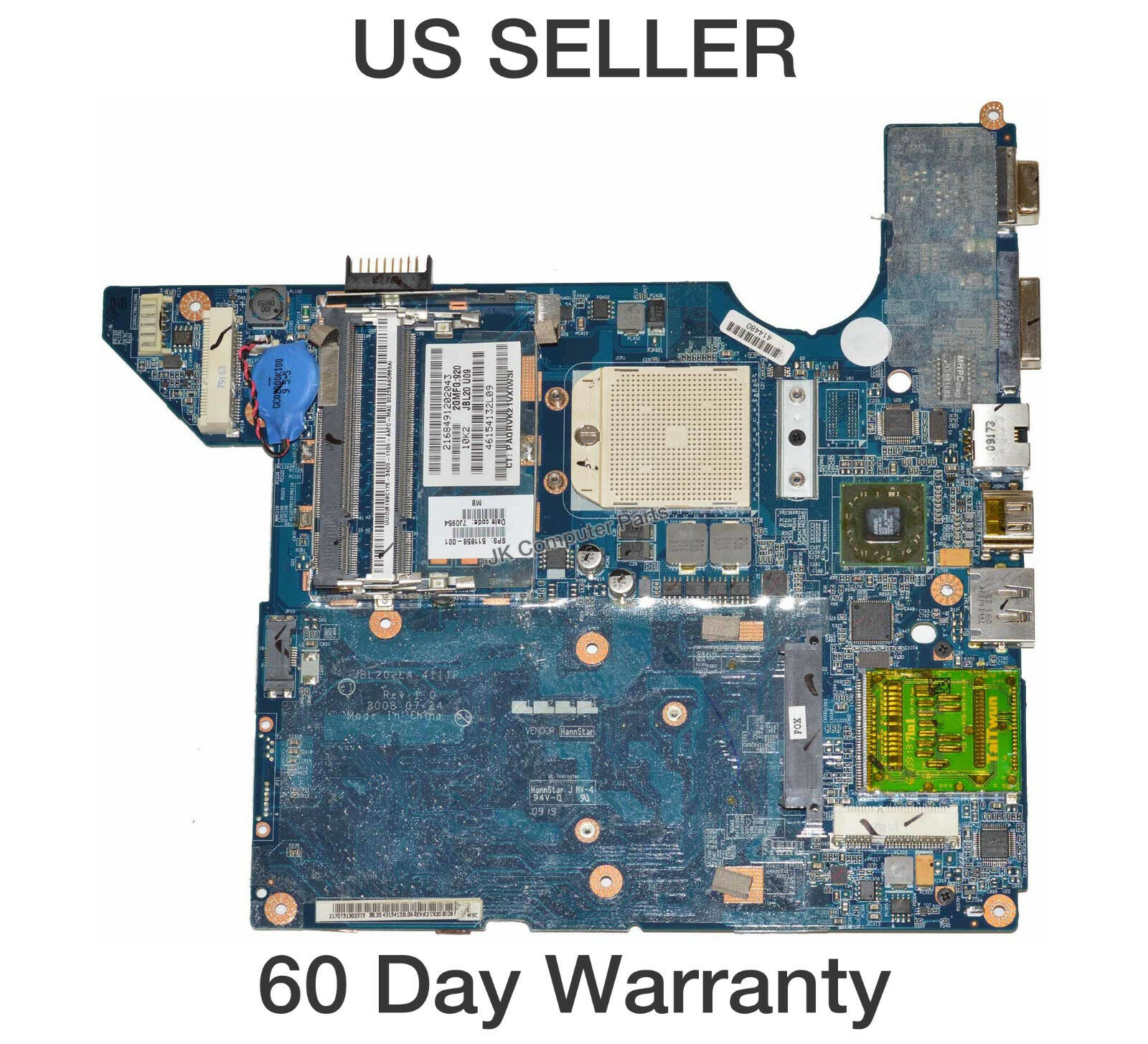 sps 640893-001 HP G6 G6-1000 AMD Motherboard,Grade A