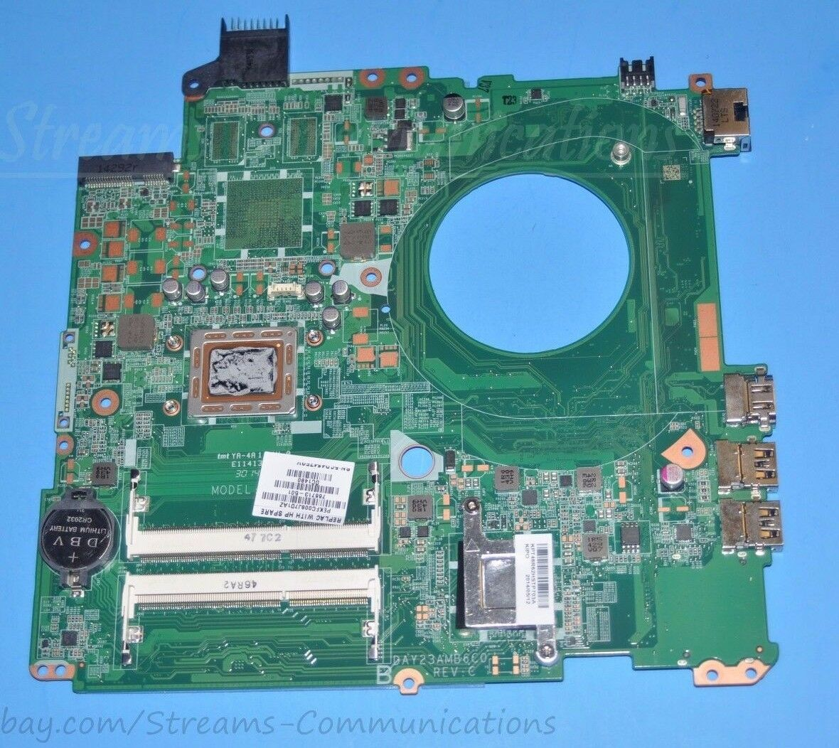 670795 658343-001 HM65 Motherboard for HP Probook 4530s 4730s Laptop 1GB video A