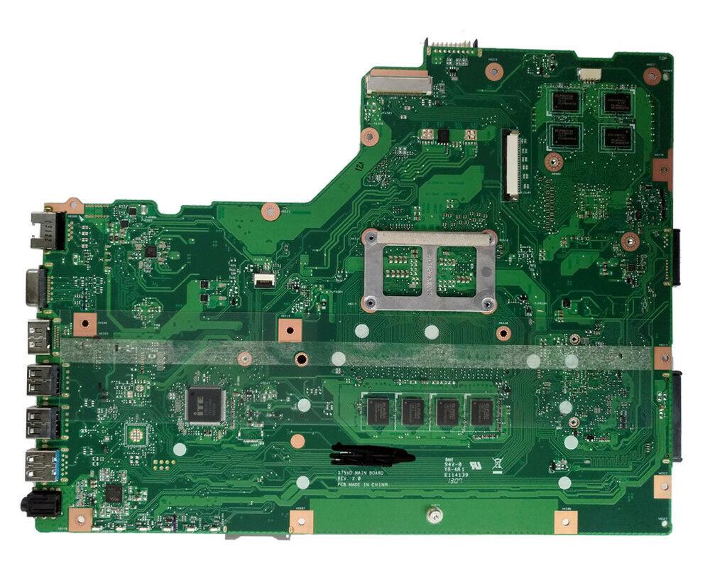 X75VD Motherboard ForASUS X75VC X75VB Laptop 4GB GT610M Rev 2.0 PGA989 Mainboard